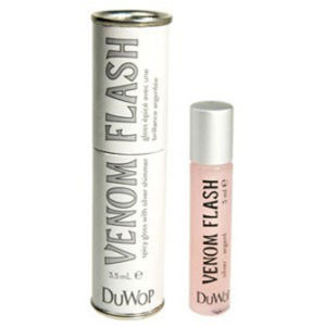 Duwop Lip Venom Flash Silver -huulikiilto (3,5ml)