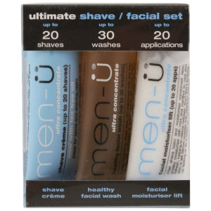 Men-U Set 3 x 15ml - Ultimate Shave/ Facial Set