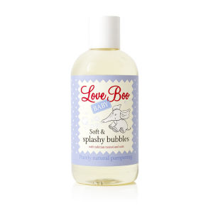 Soft & Splashy Bubbles Love Boo (250 ml)