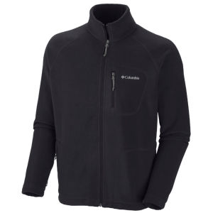 Columbia Men's Fast Trek 11 Zipped Fleece - Black