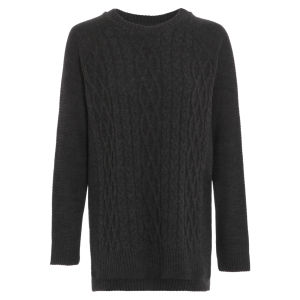 Damned Delux Women's Francis Knitted Jumper - Charcoal