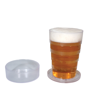 Collapsible Pocket Pint Glass
