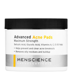 Toallitas Advanced Acne de Menscience (50 almohadillas)
