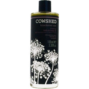 Cowshed Knackered Cow - Relaxing Bath & Body Oil (3 oz)