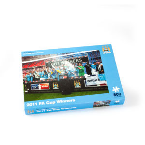 Paul Lamond Games Man City 2011 FA Cup Winners Puzzle