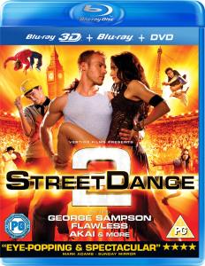 StreetDance 2 3D (3D Blu-Ray, 2D Blu-Ray and DVD)