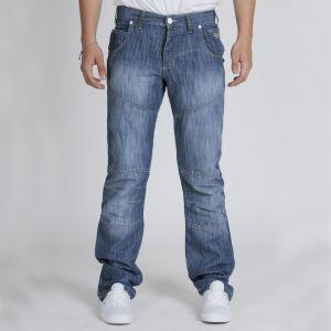 Crosshatch Men's Newkay Jeans - Stone Wash