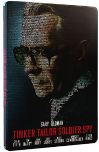 Tinker, Tailor, Soldier, Spy - Limited Edition Steelbook - Double Play (Blu-Ray and DVD) (UK EDITION)