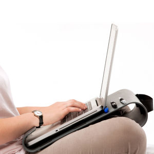 Quirky Scribe Laptop Desk and Holder