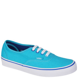 Vans Authentic Canvas Trainer - (Multi Pop) Peacock Blue/Turkish Sea
