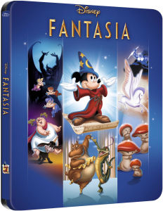 Fantasia - Steelbook Exclusivo de Zavvi (Edición Limitada) (The Disney Collection #6)