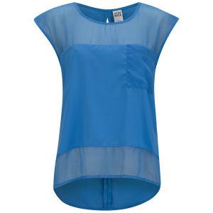 Vero Moda Women's Timi Blouse - Blue