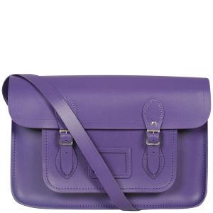 The Cambridge Satchel Company 15 Inch Leather Satchel - Purple