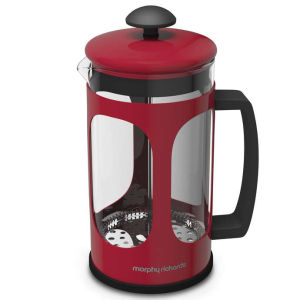 Morphy Richards Equip Cafetiere - Red