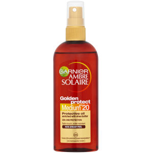 Garnier Ambre Solaire Golden Protect Sun Oil SPF 20 150ml