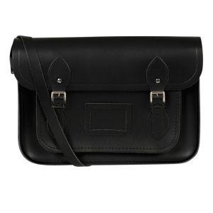 The Cambridge Satchel Company 15 Inch Classic Leather Satchel - Black