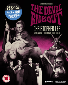 The Devil Rides Out - Double Play (Blu-Ray en DVD)