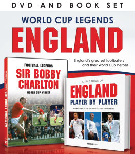 World Cup Legends: England (Bevat Book)