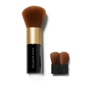 Face Powder Brush with Folding Mini Face Brush