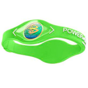 Power Balance -The Original Performance Wristband   Lime Green With White Lettering