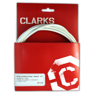 Clarks MTB/Hybrid/Road Bremskabel Kit