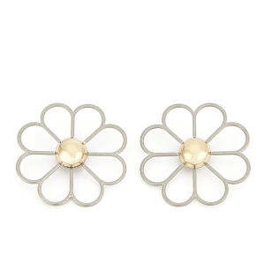 Cheap Monday Women's Daisy Earrings - Hollow Gold
