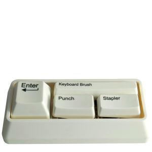 Keyboard Desk Tidy - White