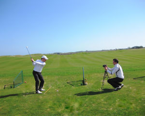 St Andrews Golf Lesson with Video Analysis