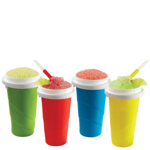 Chill Factor Squeeze Cup Slushy Maker (Colours May Vary)