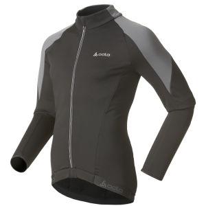 Odlo Cover Long Sleeve Full Zip Jacket - Black