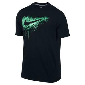 Nike Men's DFCT Cloak Swoosh T-Shirt - Black