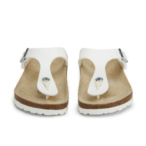 Birkenstock Women's Gizeh Toe-Post Sandals - White: Image 4