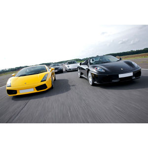 Fantastic Four Supercar Driving Blast