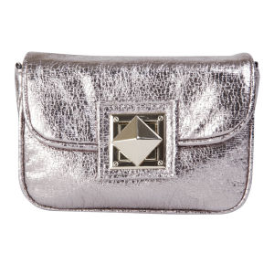 French Connection Piper Cross Body Bag - Silver
