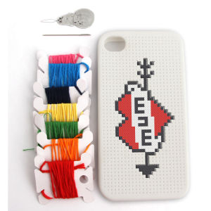 Cross Stitch iPhone 4 Case