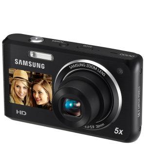 Samsung DV101 Digital Camera (16MP, 5x Optical, 2.7-Inch LCD) - Black