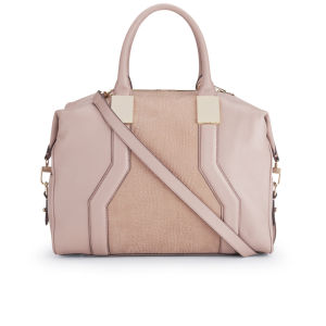 French Connection Evie Leather Tote Bag - Pink