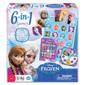 Disney Frozen 6 In 1 Games