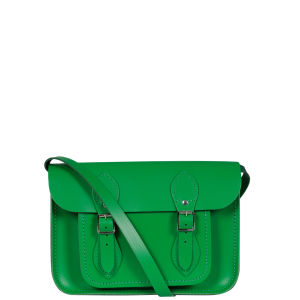 The Cambridge Satchel Company 11 Inch Classic Leather Satchel - Green