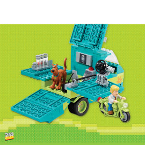 Character Building Scooby Doo - Mystery Machine Playset