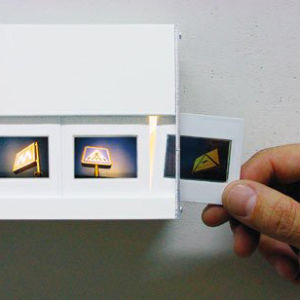 Pack of 13 Slides for Wall Mounted Photo Slide Light
