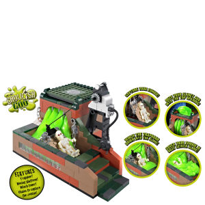 Character Building - Monsters and Zombies Sewer of Horror Playset