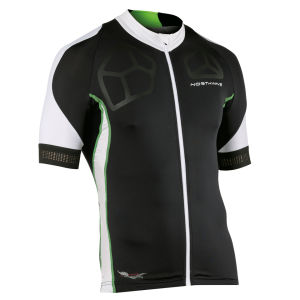 Northwave Galaxy Short Sleeve Jersey - Black/Green Fluo