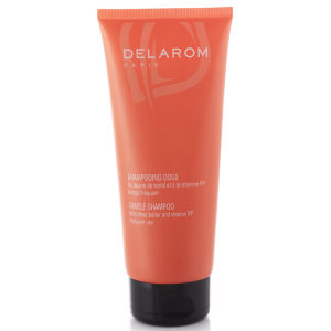 DELAROM Gentle Shampoo with Shea Butter (200 ml)