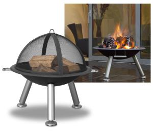 Terrace Firepit and Grill