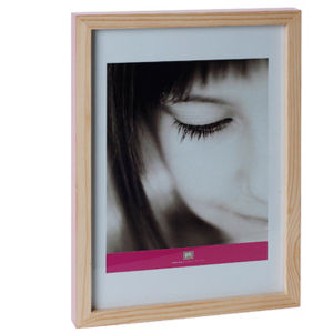 Large Hand Painted Photo Frame - Pale Pink