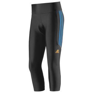 Adidas Response 3/4 Tights - Black/Solar Blue