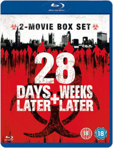 28 Days Later/28 Weeks Later Blu-ray