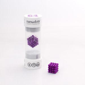 Nanodots Magnetic Constructors Purple - 64 Dots