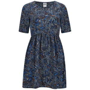 Vero Moda Women's Alex Paisley Print Dress - Blue